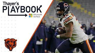 O-line paves the way for David Montgomery | Thayer's Playbook | Chicago Bears