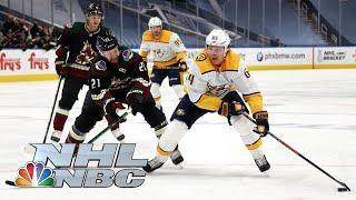 NHL Stanley Cup Qualifying Round: Predators vs. Coyotes | Game 4 EXTENDED HIGHLIGHTS | NBC Sports