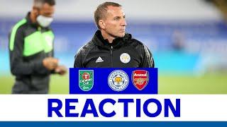 'The Players Gave Everything' - Brendan Rodgers | Leicester City 0 Arsenal 2