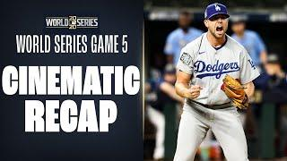 World Series Game 5 Mini-Movie (Dodgers, Rays try to advance toward crown!)