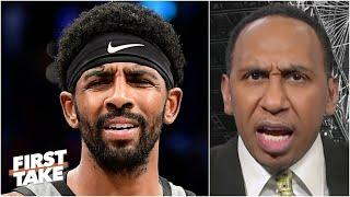 Stephen A. goes OFF on Kyrie Irving | First Take