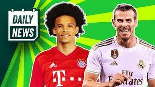 Bale can leave for FREE + Sane to Bayern is back on!  Daily News