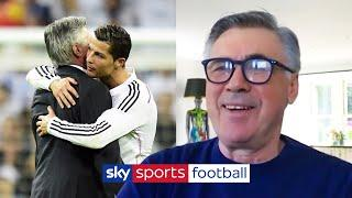 Carlo Ancelotti reveals what it is like to manage Cristiano Ronaldo   Jamie Carragher interview