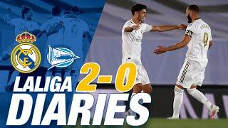 ️ Real Madrid 2-0 Alavés | Benzema & Asensio goals keep the distance!