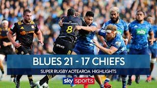The Chiefs suffer 6th consecutive loss! | Blues 21 - 17 Chiefs | Super Rugby Aotearoa