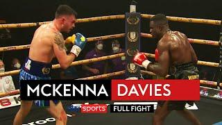 FULL FIGHT! Tyrone McKenna vs Ohara Davies | Golden Contract Super Lightweight Final