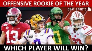 NFL Rookie Of The Year Candidates 2020 On Offense Ft. Joe Burrow, Tua & Clyde-Edwards Helaire
