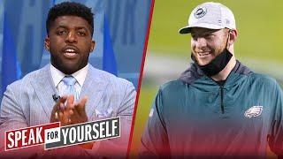 Colts won trade: Eagles' success depends on Wentz's Indy success — Acho | NFL | SPEAK FOR YOURSELF