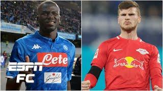 Should Liverpool sign RB Leipzig's Timo Werner or Napoli's Kalidou Koulibaly? | Premier League