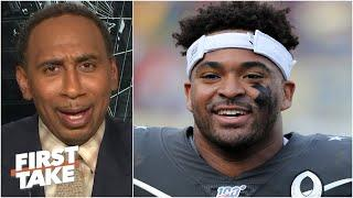 Stephen A. doesn't blame Jamal Adams for requesting a trade from the 'pathetic' Jets | First Take