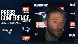 Julian Edelman on Playing with Cam Newton & More | Patriots Postgame Press Conference