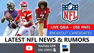 NFL Daily: Live NFL Rumors + Q&A With Mitchell Renz & Harrison Graham (June 17)