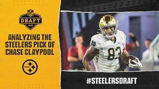 Analyzing the Steelers selection of Notre Dame WR Chase Claypool | Pittsburgh Steelers
