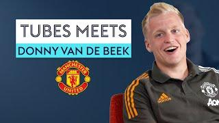 Who does Van de Beek think is the BEST Dutchman to play for Manchester United?   | Tubes Meets