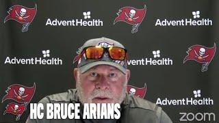 Bruce Arians on Facing Cam Jordan & the New Orleans Saints | Press Conference
