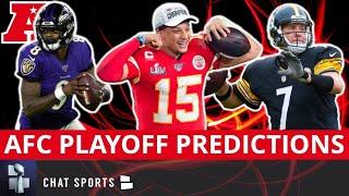 NFL Playoff Predictions: 2020 AFC Playoff Projections Before Training Camp
