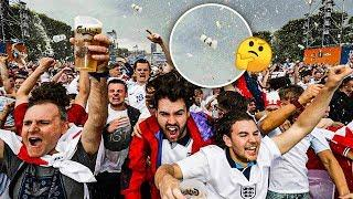 Why on earth do football fans throw beers in the air?   Oh My Goal