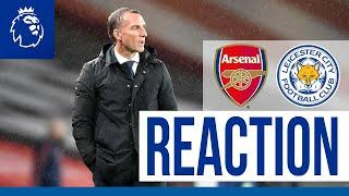 'We Wanted To Win The Game' - Brendan Rodgers | Arsenal 1 Leicester City 1