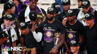 PBT Extra: LeBron James the story of the NBA Finals; G.O.A.T. talks emerge | NBC Sports