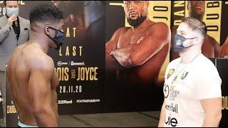 BIG D! - HEAVYWEIGHT CLASH - DAVID ADELEYE v DANNY WHITAKER / (COMPLETE) WEIGH-IN / DUBOIS v JOYCE