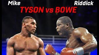 Mike Tyson TOUGHEST & MOST AWKWARD fight?! Tyson vs Bowe - THE GREATEST