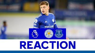 'A Disappointing Night' - Harvey Barnes | Leicester City 0 Everton 2 | 2020/21