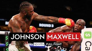 NFL star Johnson knocked down in boxing debut!   Chad Johnson v Brian Maxwell   Full Fight
