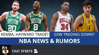 NBA Rumors: Warriors Trading Down For Deni Avdija? Gordon Hayward To Hawks? Kemba Walker To Bulls?