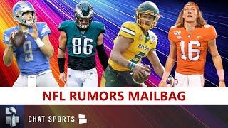 NFL Rumors On Matthew Stafford Trade, Zach Ertz Trade To Patriots, Trey Lance Draft Rumors | Mailbag