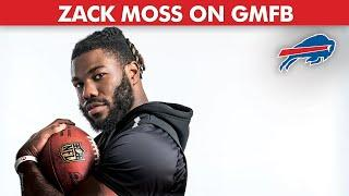 Zack Moss' Comparison to Marshawn Lynch & Lessons He Learned from Josh Allen