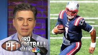Cam Newton 'of old' makes Patriots debut vs. Dolphins in NFL Week 1 | Pro Football Talk | NBC Sports
