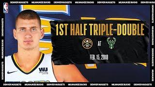 1st Half Triple-Double For Jokic | #NBATogetherLive Classic Game