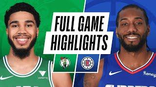 CELTICS at CLIPPERS | FULL GAME HIGHLIGHTS | February 5, 2021