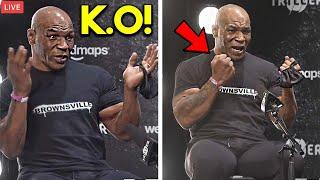 """*WOW* MIKE TYSON: """"WHEN I HIT ROY JONES- IT WILL BE НELL!"""" REACTS TO NO-KNOCKOUT RULE  FULL MEDIA"""