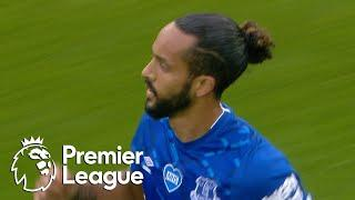 Theo Walcott pulls Everton level with Aston Villa | Premier League | NBC Sports