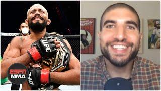 'I think I'm in love with Deiveson Figueiredo' - Ariel Helwani on new flyweight champion | ESPN MMA