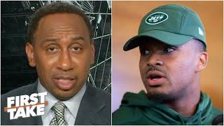 Stephen A. doesn't like how Jets safety Jamal Adams is approaching trade to the Cowboys | First Take