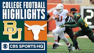Baylor vs Texas Highlights: Bears take a 27-16 hit to the loss column | CBS Sports HQ
