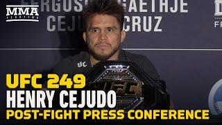UFC 249: Henry Cejudo Post-Fight Press Conference - MMA Fighting