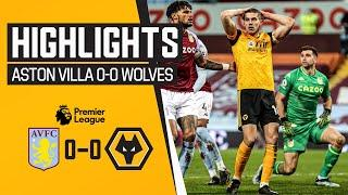 Stalemate at Villa Park | Aston Villa 0-0 Wolves | Highlights