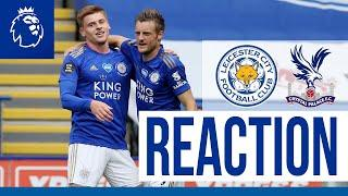 'It's Great To Assist Vardy's 100th' - Harvey Barnes | Leicester City 3 Crystal Palace 0