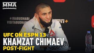 Khamzat Chimaev Loves Donald Cerrone, But Wants to Smash Him - MMA Fighting