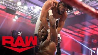 Kevin Owens & Apollo Crews vs. Andrade & Angel Garza: Raw, June 1, 2020