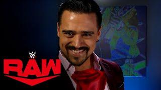 Angel Garza presents rose to mysterious admirer: WWE Network Exclusive, Dec. 7, 2020