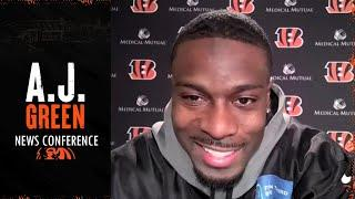 A.J. Green Evaluates His 2020 Season & Progress He Made Playing w/ Joe Burrow | Cincinnati Bengals