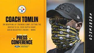 Steelers Virtual Camp Press Conference (Sept. 4): Coach Mike Tomlin | 2020 Training Camp
