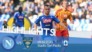 Highlights Serie A - Napoli vs Lecce 2-3