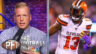 Chris Simms defends NFL WR rankings after being called out | Pro Football Talk | NBC Sports
