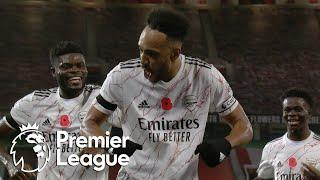 Pierre-Emerick Aubameyang penalty puts Arsenal ahead of Man United | Premier League | NBC Sports