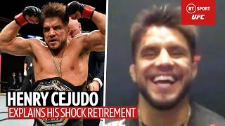 Henry Cejudo explains his retirement and real estate dreams!